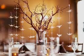 manzanita tree centerpieces royal blue and silver wedding centerpiece ideas outside the box