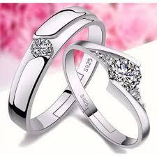 diamond couple rings images Elegant diamond couple ring JPG
