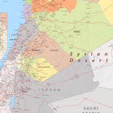 Map Of Syria by Giant Detailed Map Of Syria By Cartarium Graphicriver