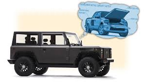 first truck ever made the bollinger electric truck uses an idea i had years ago and i