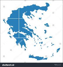 Greece On The Map by High Resolution Greece Map Country Flag Stock Vector 345591098