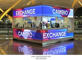 the shop bureau de change bureau de change stock photos and images age fotostock
