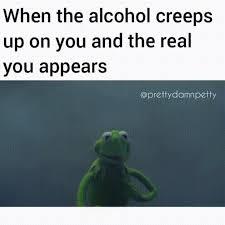 Kermit Meme Images - when the alcohol creeps out evil kermit know your meme