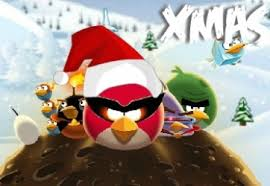 play angry birds space xmas