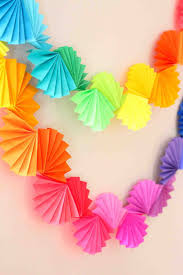fan party decoration com diy paper fan decorations pretty and fun hanging round mini fan party