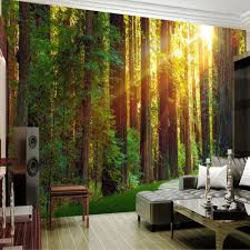 3d wall mural photo wallpaper nature green tree for living room tv 3d wall mural photo wallpaper nature green tree for living room tv backsplah wall decor paper murals roll contact paper in wallpapers from home improvement