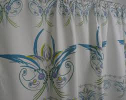purple cafe curtains etsy