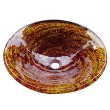 yosemite home decor marigold bathroom sinks yosemite home decor marigold spiraled golden red round glass basin
