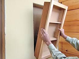 Wood Medicine Cabinet No Mirror Bathroom Recessed Medicine Cabinets Recessed Mirrored Medicine