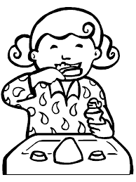 Tooth Coloring Pages Getcoloringpages Com Brushing Teeth Coloring Pages