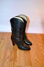cowboy boots uk leather womens size us 11 uk 9 eu 42 brown black cowboy boots canada