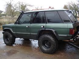 land rover green 1993 green range rover classic on 37s off road 4x4s