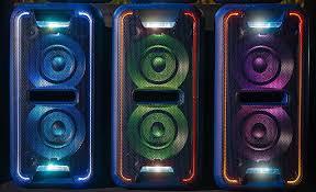 sony high powered bluetooth light up speaker gtk xb5 light up portable speaker system with bass gtk xb7 sony ee