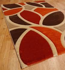 Modern Orange Rugs Burnt Orange Area Rug Designs Regarding Rugs Plan 21 Quantiply Co