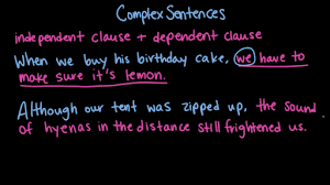 simple and compound sentences practice khan academy