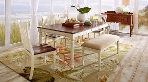 Coffee Table Rooms To Go Cindy Crawford Home Ocean Grove White 5 Pc Rectangle Dining Room