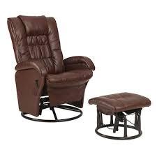rocker recliner with ottoman glider rocker recliner with ottoman shopko