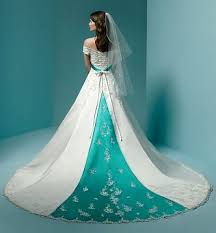 wedding dresses with color color wedding dresses