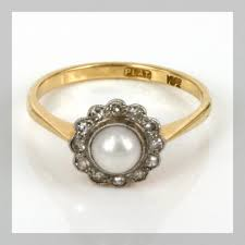 japanese wedding ring wedding ring pearl engagement rings pearl engagement