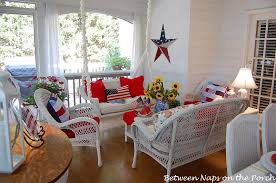 Fourth Of July Door Decorations Patriotic Porch For The 4th Of July