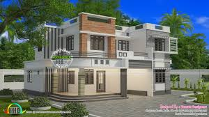 Florida House Designs 1821 Sq Ft Box Type Flat Roof House Kerala Home Design Bloglovin U0027