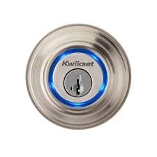 kwikset kevo single cylinder satin nickel touch to open bluetooth