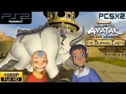 avatar airbender burning earth ps2 gameplay
