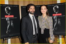 oscar isaac u0026 alicia vikander premiere u0027ex machina u0027 in nyc photo