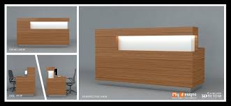 Office Table Front View Shop Reception Table Designs Office Interior Designs In Dubai