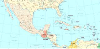 map central mexico mexico central and south america the caribbean new in map 0f for