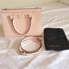 light pink kate spade bag kate spade handbags kate spade light pink handbag poshmark