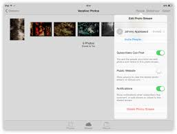 how to refuse an invitation icloud photo sharing with shared photo streams the instructional