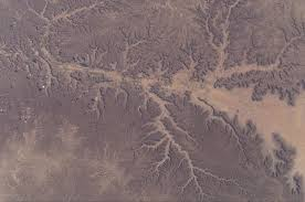 dendritic drainage pattern yemen