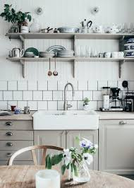 white and black scandinavian kitchen design trends room large size