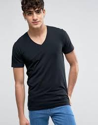 maxi dress selected cheap selected homme v neck t shirt black men