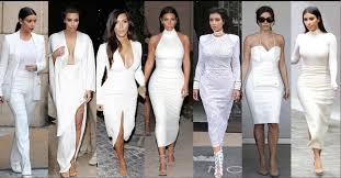 would you rock k all white clothes