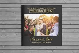 album wedding square wedding album brochure templates creative market