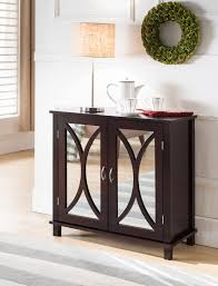 mirrored entryway table vanity decoration