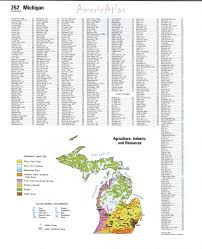 A Map Of Michigan by Topographic Map Of Michiganfree Maps Of North America