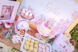 kara u0027s party ideas shabby chic bakery birthday party kara u0027s