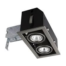 Bazz Lighting Fixtures Bazz Cubg302b Cube Recessed 2 Light Fixture The Mine