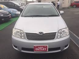 toyota co ltd 2006 toyota corolla fielder x hid 40th limited used car for sale