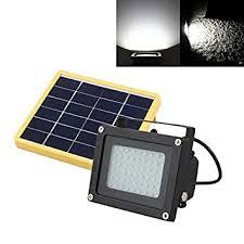 solar powered dusk to dawn light amazon com led floodlight bangweier solar powered 54 led dusk to