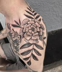 18 best marigold tattoo images on pinterest modeling bones and