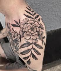 18 best marigold tattoo images on pinterest modeling bones and