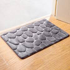 Bathroom Memory Foam Rugs Absorbeflannel Bathroom Memory Foam Rug Kit Toilet Pattern