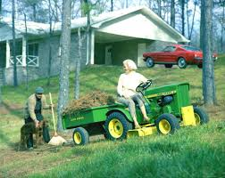 mustang 1965 john deere lawn mower ad the work horse division 2