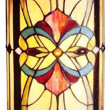 tiffany style lamp handcrafted victorian stained glass bronze