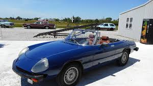 alfa romeo classic blue 1975 alfa romeo spider for sale near staunton illinois 62088