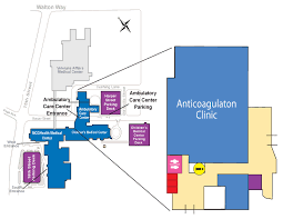 mcg floor plan maps and directions augusta university anticoagulation clinic